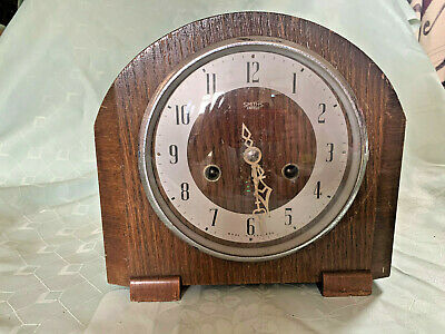 Smiths Enfield Mantle Clock -no key -untested
