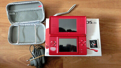 Nintendo DS Lite (Rot) in OVP+Ladekabel