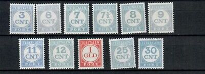 Netherlands Colonies Europe Postage Tax Set Of Mh & Mnh Stamps Lot (Neth 76)