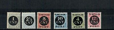 Netherlands Colonies Europe Postage Tax Set Of Mh & Mnh Stamps Lot (Neth 75)