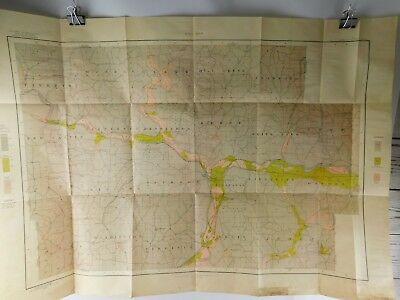 Color Soil Survey Map Ohio Coshocton County Sheet 1904