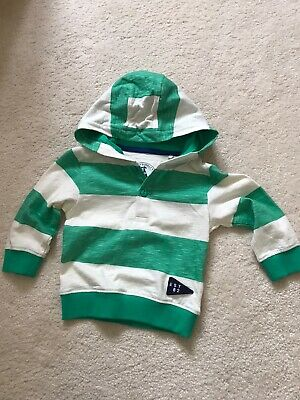 New Next Baby Boy's Hooded Top ~ Age  9-12 Months ~BNWT
