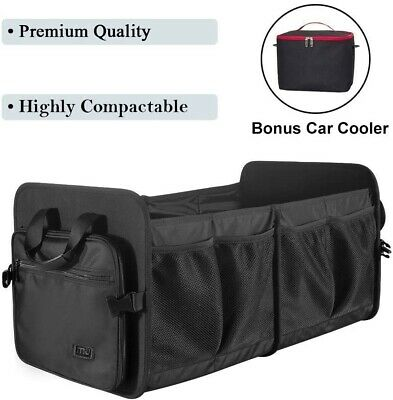 Foldable Car Boot Organiser Cargo Trunk Storage Strong Water Resistant Shopping