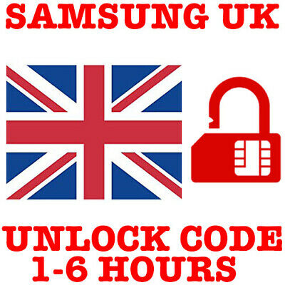 SAMSUNG GALAXY UNLOCK CODE S20 S20+ PLUS S20 ULTRA EE Vodafone BT O2 SKY 3 UK