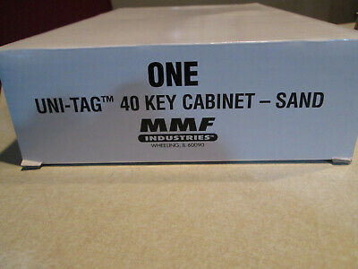 MMF INDUSTRIES 201904003 40 unit capacity Steel Key Cabinet  **NEW*