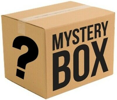 Mystery box New & Used electronics, computers, magic Tattoos, dvds,