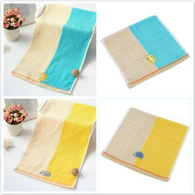 Newborn Baby Saliva Towel Nursing Cotton Embroidery Towel Washcloth Handkerchief