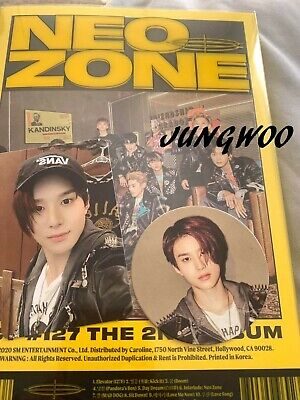 [US SHIPPING]NCT 127-[NCT #127 Neo Zone]2nd Album Jungwoo