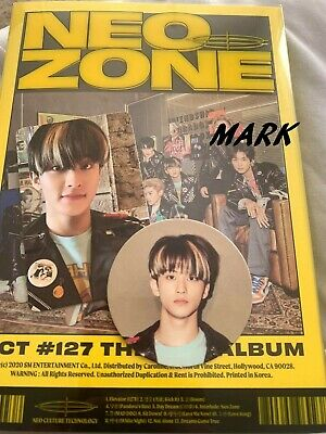 [US SHIPPING]NCT 127-[NCT #127 Neo Zone]2nd Album Mark.