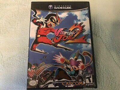 Viewtiful Joe 2 Nintendo GameCube - Original Black Label Case + Insert + Game!!
