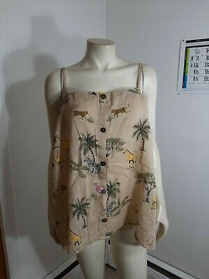 Old Navy Safari Tank Top Sz 1X NWT...Brand  New...never been used...comes from a