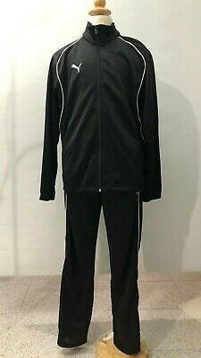 NEW kids PUMA WARM UP TRACK SUIT 2 Pieces w/ tags- BLACK