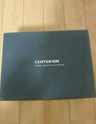 American Express Centurion Black Card Holder Jewelry Box Birthday Gift