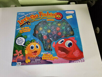 Deep Sea Edition Let/'s Go Fishin/' Fish Game Fishing XL 42 seacreatures to catch