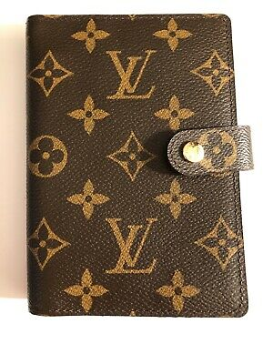 "Louis Vuitton Authentic Small Ring Agenda PM Monogram ""Top Seller 2012"" #CA1192"