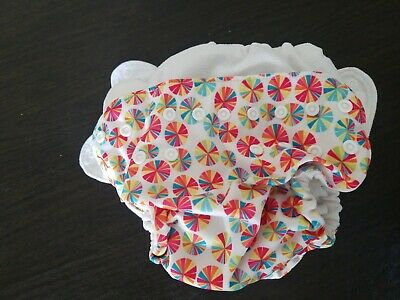 4 Fuzzibunz One Size Large Cloth Diapers
