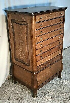 Awesome Quartersawn Oak General Store Ncr Cash Register Cabinet