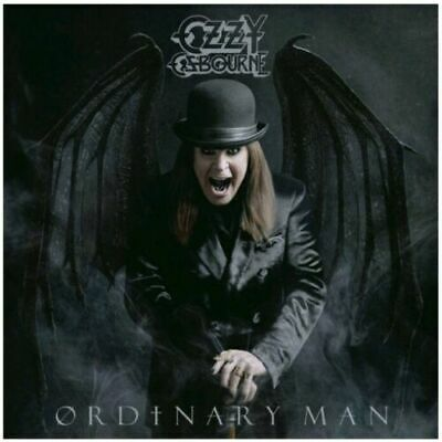 Ozzy Osbourne Ordinary Man Autographed Hand Signed CD + Booklet Free Shipping