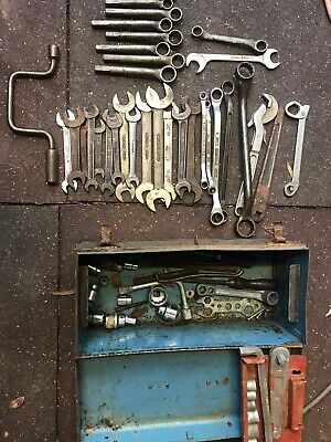 Witworth Spanners/sockets/king Dick
