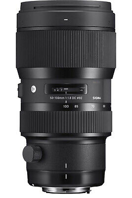 Sigma 50-100mm f/1.8 DC HSM Art Lens for Canon Mounts