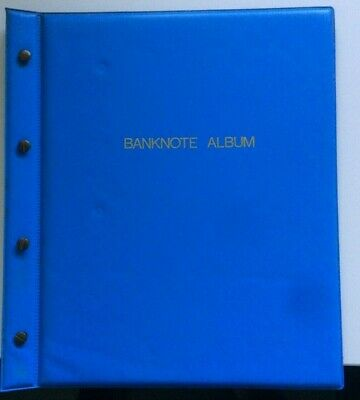 World banknote collection in Album. Europe, Asia, USA