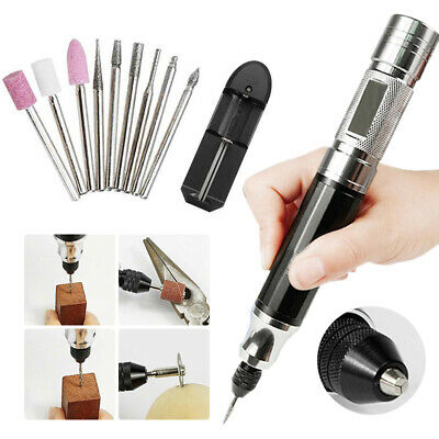 UK 30W 15000RPM Mini Electric Grinder Drill Engraving Pen Grinding Rotary Tool