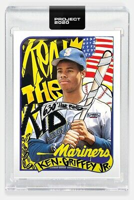 Topps PROJECT 2020 Card #6 - 1989 Ken Griffey Jr by King Saladeen Pre-Sell