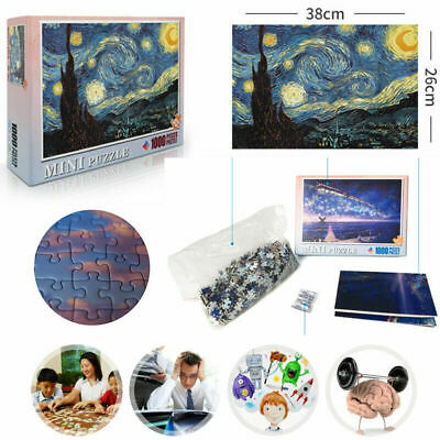 1000 Piece Puzzle Adult Large Cardboard Jigsaw Decompression Game Toy Gift.