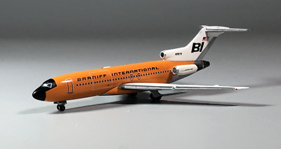 1:500 InFlight Braniff Orange BOEING 727-100 Passenger Airplane Diecast Model
