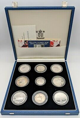 Royal Mint 1945-1995 International Silver Coin Collection