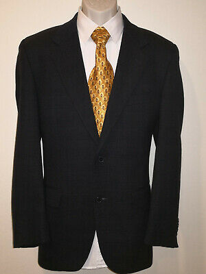 Joseph Abboud Black 2-Button Suit - Size 40 Reg