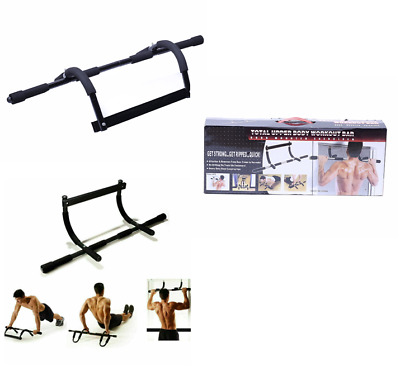 Gym Chin UP pull UP Strength Situp Dips Exercise Workout Door Bars Training UK