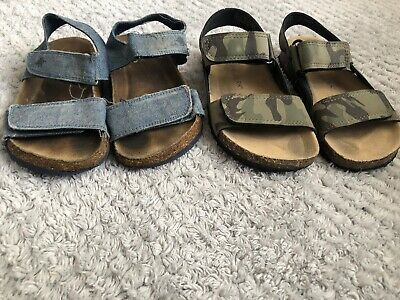 Infant Boys 2 Pairs Of Sandals Size 8 Next Primark