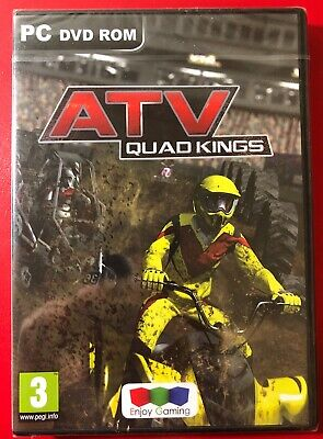 ATV Quad Kings PC DVD Rom. New & Sealed. Quad Bike Racing.