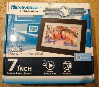 "Panimage 7"" Digital Photo Frame"