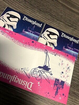 Disneyland Ticket 1 Day Park Hopper Complimentary 2 Tickets Valid 2/25/21