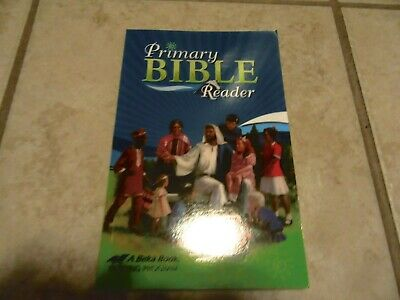 ABeka  Primary Bible Reader   1st 2nd Grade 1 2   CURRENT   Barely Used   EXCLNT