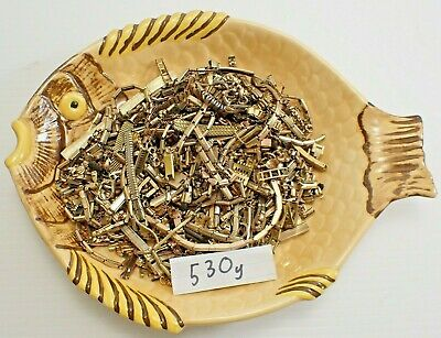 Quality Gold Filled Scrap - 530g - For Gold Recovery Antique Watch Bracelets Etc