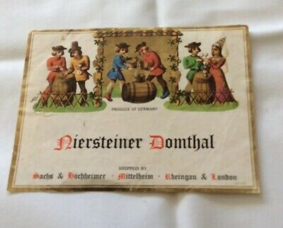 Wine Bottle Labels  1970s - French And German