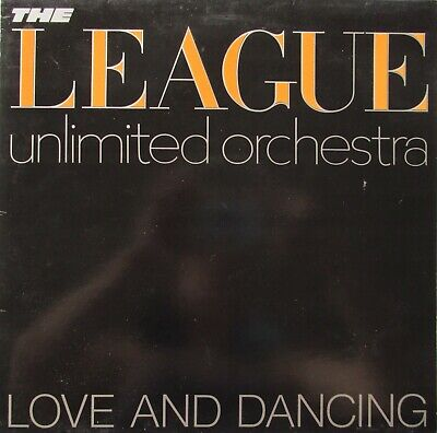 The League Unlimited Orchestra ‎Love And Dancing Vinyl UK 1982 Record
