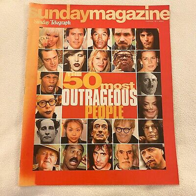 The Sunday Telegraph : Magazine Te 50 Most Outrageous People