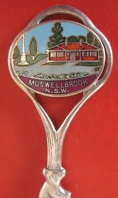 1 x COLLECTORS  SPOON - MUSWELLBROOK, N.S.W.