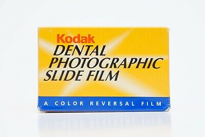 Rare Kodak Dental Photographic Slide Film 35mm Unopened In Box Expired 03/2003