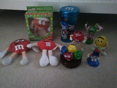 M & M's Assorted lot of 9 items
