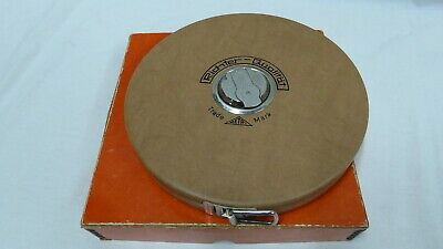 50m Wind up measuring tape - Richter-Qualitat - Made in Germany