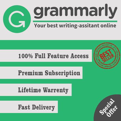 Grammarly Premium 💯 Lifetime account with Lifetime Warranty 🔥 FAST DELIVERY🔥
