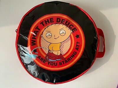 Family Guy 2012 Stewie Expandable Cooler Bag Beach Beer What The Deuce 30cm