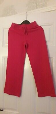 Young girls dark pink  joggers