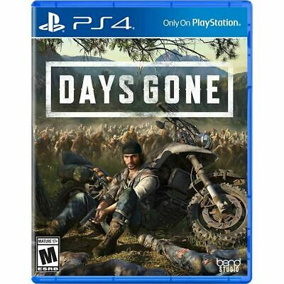 Days Gone (Sony PlayStation 4, PS4, 2019) *BRAND NEW/FACTORY SEALED*