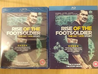 The Rise Of The Footsoldier - brand new -factory sealed - blu-ray disc